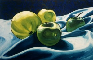 Apples on Ocean 84x60