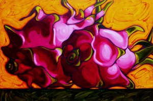 Dragon Fruit 60x40